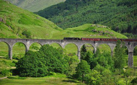 Skotsko na kole - 16 dní s ubytováním, dopravou a polopenzí