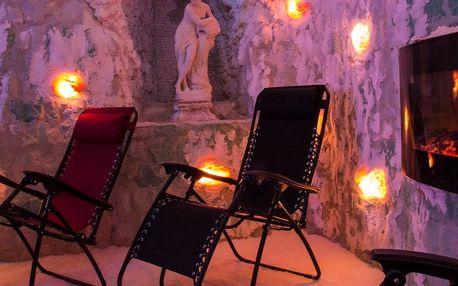 Relax: Vstupné či pronájem solné jeskyně