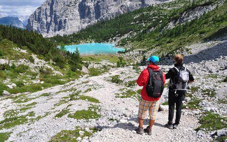 Dolomity turisticky - 5ti denní zájezd s dopravou, ubytováním a polopenzí