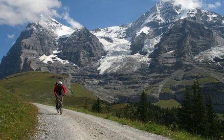 Švýcarsko - Bernské Alpy cyklistika - 7 dnů s dopravou, ubytováním a polopenzí