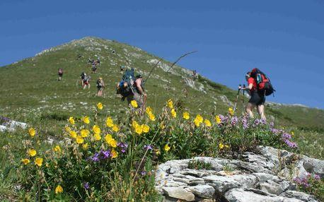 Rumunsko Retezat - horská turistika, 10 dnů s dopravou a ubytováním v kempu