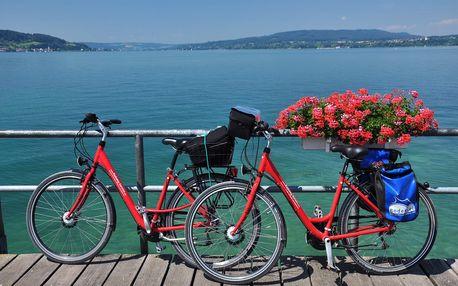 Okolo Bodamského jezera - cykloturistika, 5 dnů s dopravou, ubytováním v kempu a polopenzí
