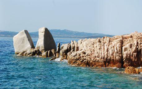 Sardinie a její pláže - 10 dnů s ubytováním a polopenzí