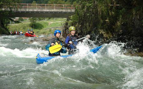 Řeky Rakouska -Tiroler Ache, Saalach, Möll, Mur - 4 dny s dopravou, ubytováním a polopenzí