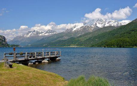 Švýcarsko - Engadin - pěší a cyklo turistika - 7 dnů s dopravou, ubytováním a polopenzí