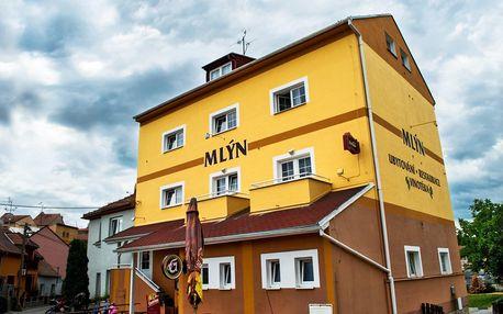 Penzion Mlýn v Bořeticích s polopenzí, platnost až do srpna 2019