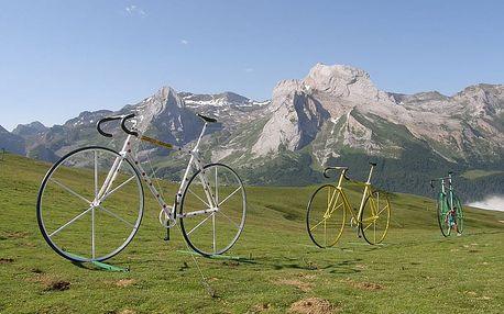 Pyreneje cyklo - 12 dnů s dopravou, ubytováním a polopenzí