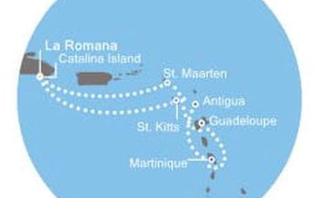 Costa Pacifica - Dominikán.rep.,Antily