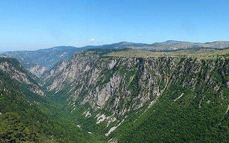 Hory Černé Hory - 10 dnů s dopravou a ubytováním