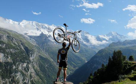 Švýcarsko - Bernské Alpy MTB - 7 dnů s dopravou, ubytováním a polopenzí