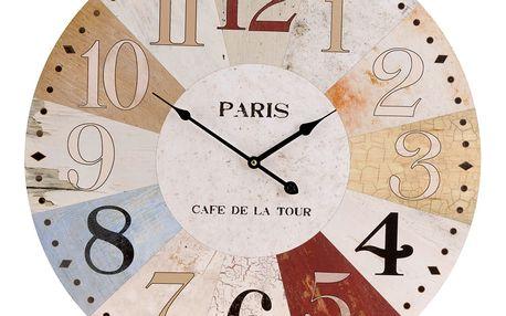 Emako Nástěnné hodiny PARIS - kulaté Ø 60 cm