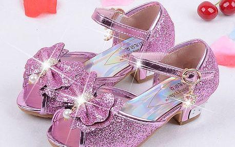Boty pro malé princezny