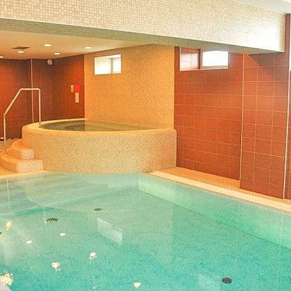 Beskydy s wellness s bazénem a vířivkou