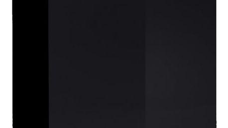 Vitrína SWITCH SW 3, černá matná/černý lesk