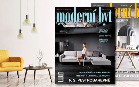 Roční předplatné časopisu Moderní byt 2019