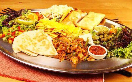 Degustační mexické menu pro 2 i 3–4 osoby