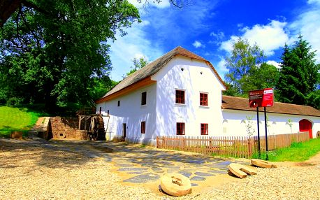 Nevšední dovolená na jižní Moravě v Porčově mlýně s polopenzí