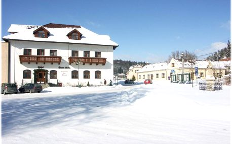Šumava: hotel Stará Škola