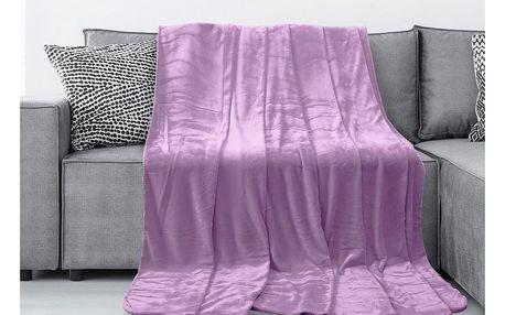 AmeliaHome Deka Tyler fialová, 150 x 200 cm