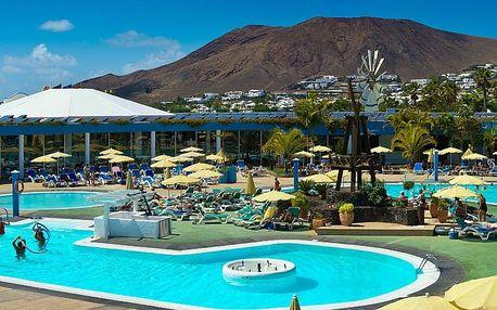 Kanárské ostrovy, Lanzarote, letecky na 8 dní all inclusive