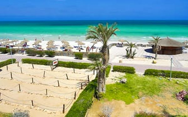 Hotel Aljazira Beach & Spa, Djerba, letecky, all inclusive2