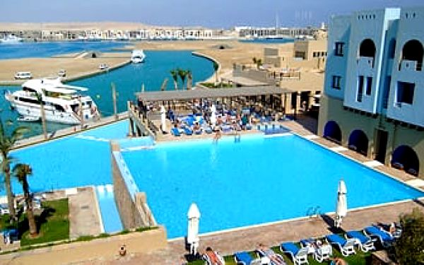 Hotel Marina Lodge Port Ghalib Resort, Marsa Alam, letecky, all inclusive3