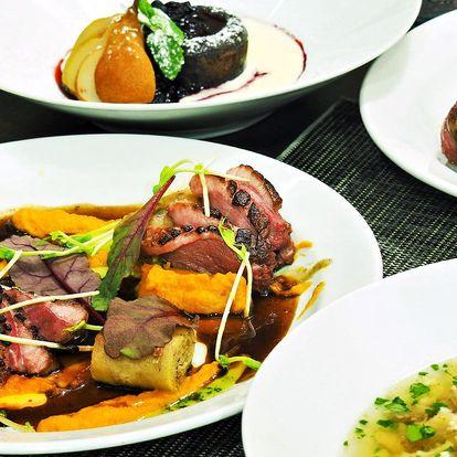 4chodové menu v restauraci oceněné Z. Pohlreichem
