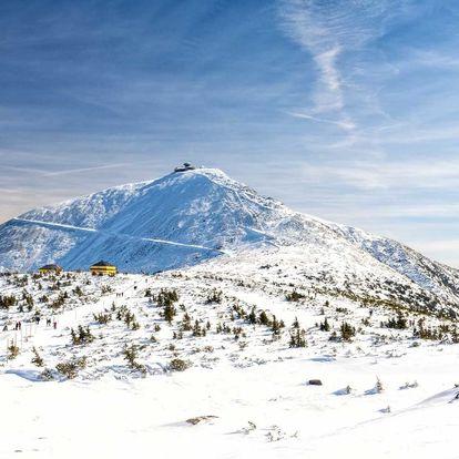 2-7 nocí v horské chalupě v Peci pod Sněžkou