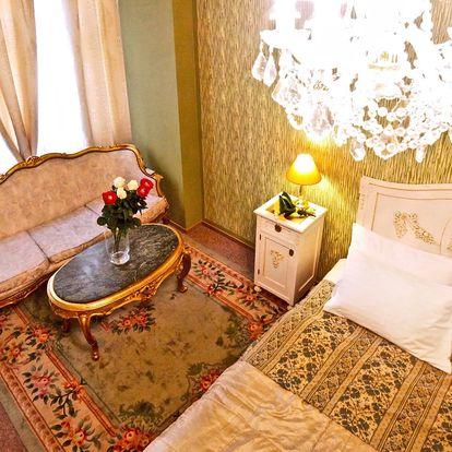 Krásný hotel v Praze: Snídaně i jízdenka na MHD