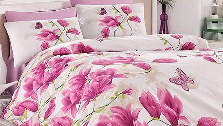 Tiptrade Bavlna povlečení Alize lila 140x200 70x90 50x70