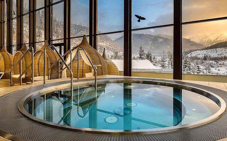 Pobyt v zrube pre 2-4 osoby v Tatrách so vstupom do wellness Grand hotela…