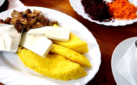 Zažeňte hlad: speciální ukrajinské menu pro dva