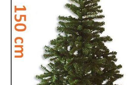 Nexos 1102 Umělý vánoční strom - tmavě zelený, 1,5 m