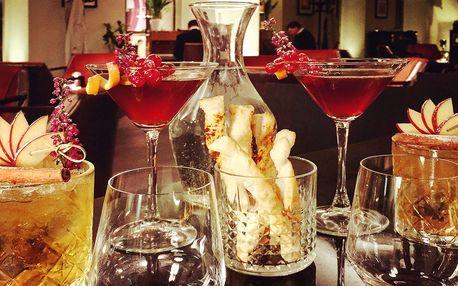 Pětihvězdičkový večer s koktejly a piánem pro dva
