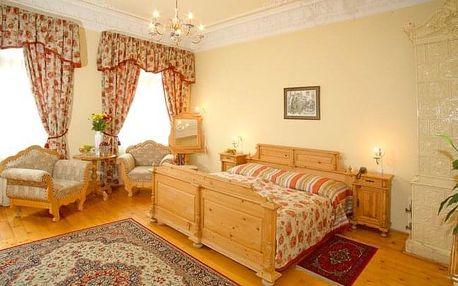Karlovy Vary luxusně v Hotelu Heluan & Ester **** s polopenzí, bazénem a masáží