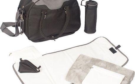 BO JUNGLE Přebalovací taška B-CITY Black