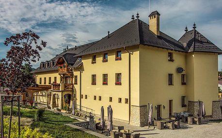 Relax na Slovensku s privátním wellness v penzionu Chateau Hunting***