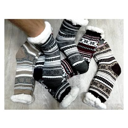 Hřejivé pánské ponožky Winter