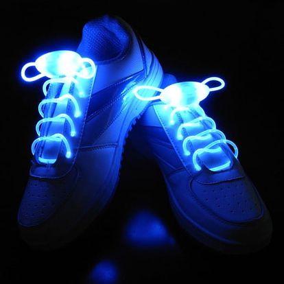 Svítící LED tkaničky do bot