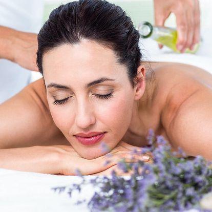 Odpočinek s vůní levandule: 60minutová masáž