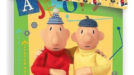 Jerry Fabrics Dětské bavlněné povlečení Pat a Mat green 03, 140 x 200 cm, 70 x 90 cm
