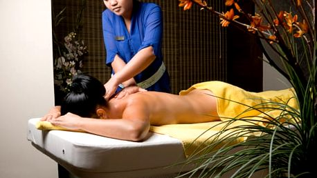 Thajská aroma relaxační jasmínová masáž od rodilých Thajek