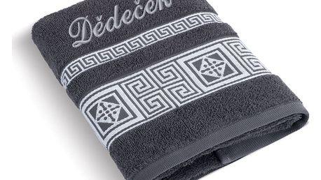 Bellatex Froté ručník 50x100 řecká kolekce 155/044 s výšivkou Dědeček