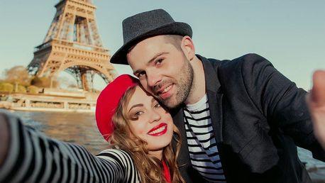 Francie Paříž poznávací zájezd, VŠE V CENĚ ubytování hotel, snída...