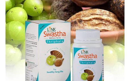 Swastha Thriphala - balení 60 detoxikačních tabletek