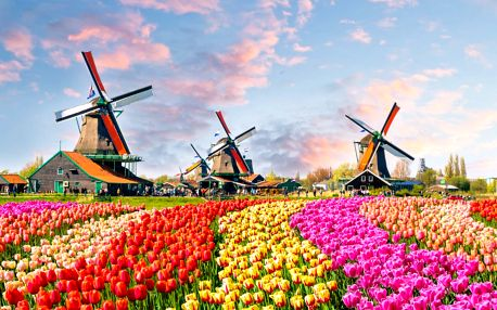 Rozkvitnuté Holandsko a prehliadka Amsterdamu