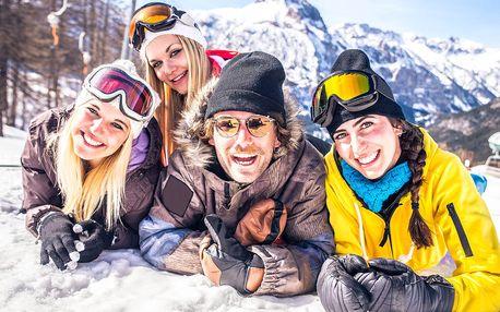 Víkendová lyžovačka na Slovensku + dítě do 12 let zdarma