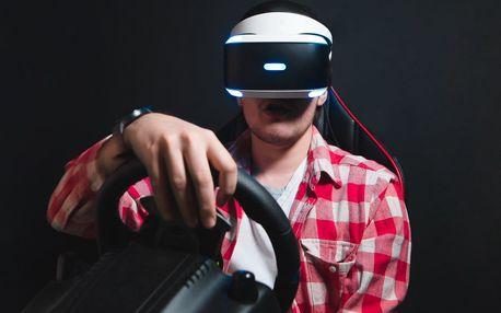 Staň se virtuálním pilotem závodních vozů