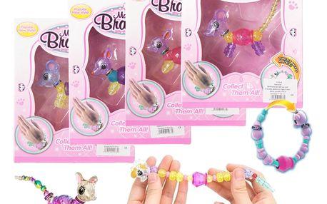 Magical Bracelet Twisty Petz zvířátka a náramky jednobalení průhledné