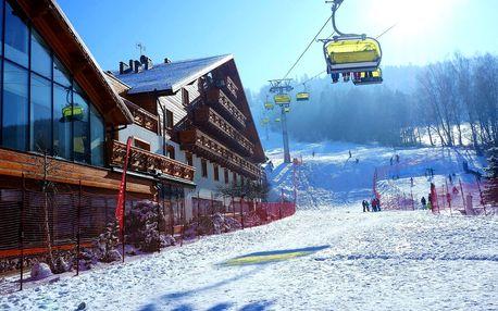 Pobyt v lyžařském ráji vč. polopenze i wellness